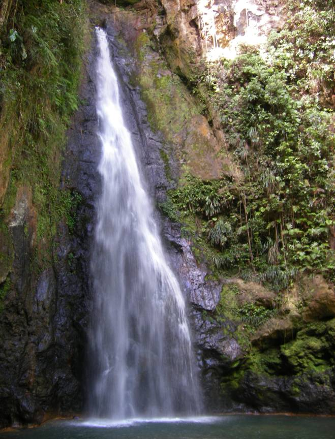 Middle Falls Dominica