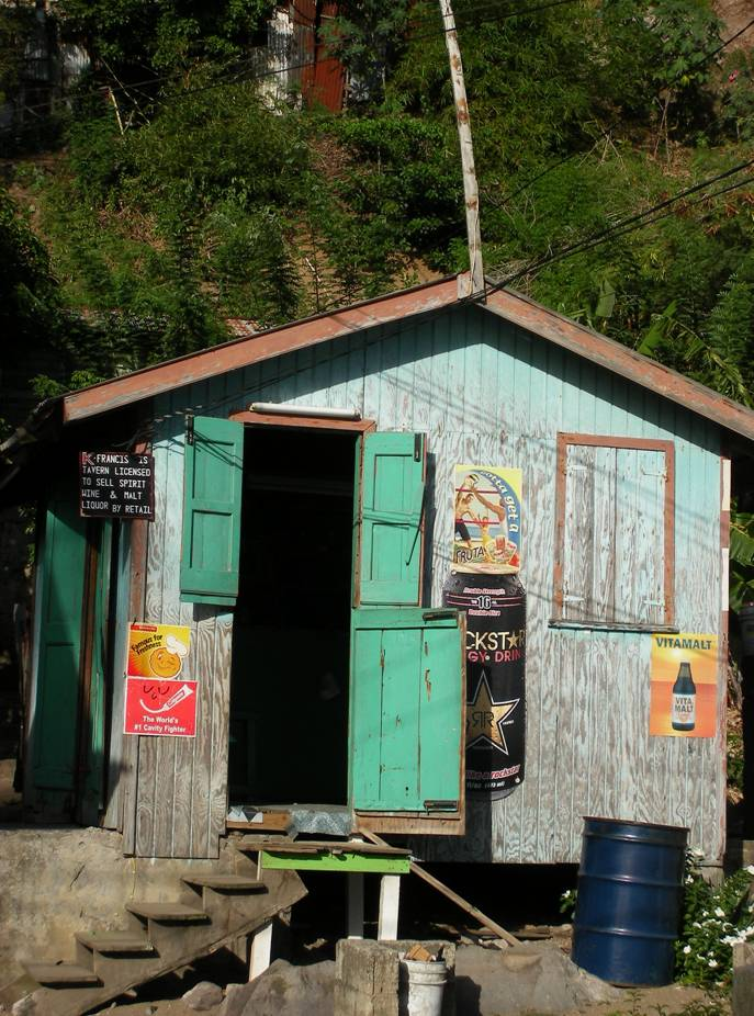 Soufriere Village