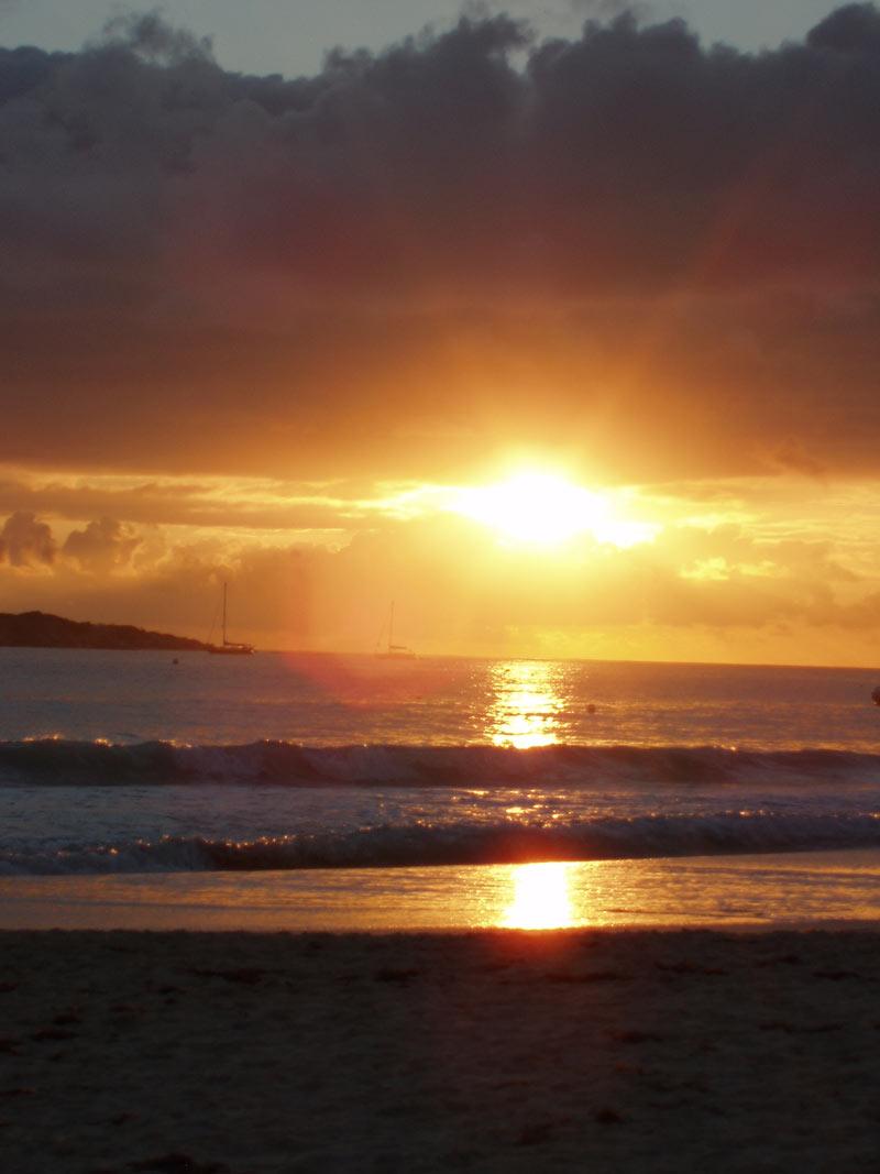 st-maarten Sunset