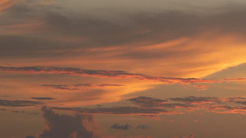 Red Skyline June