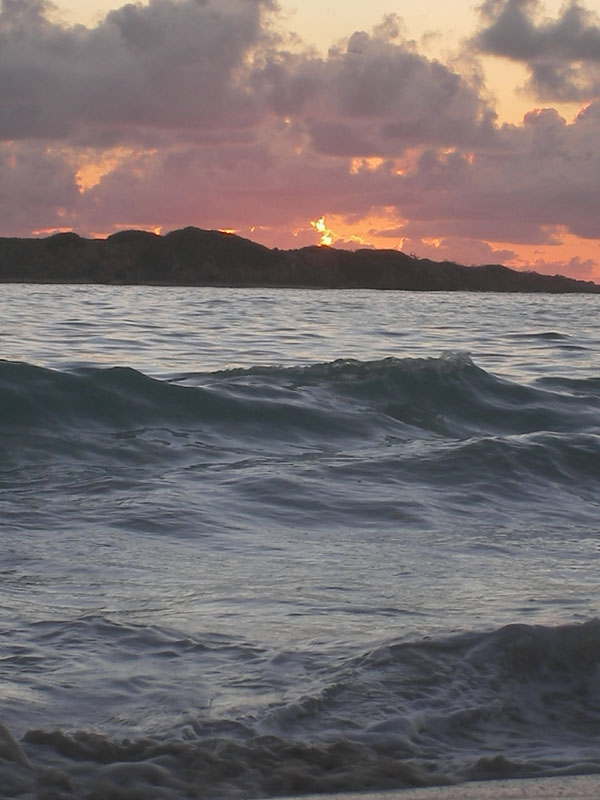 Levé de soleil Caraibes
